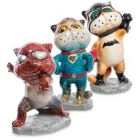 Комплект из 6 фигурок «Коты-герои» MN-01