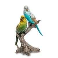 Фигура «Пара волнистых попугаев» MN-08