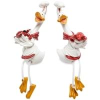 Комплект из 2 фигурок «Гуси-поварята с деликатесом» MN-127