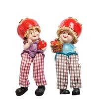 Комплект из 2 фигурок «Домовята с урожаем клубники» MN-139