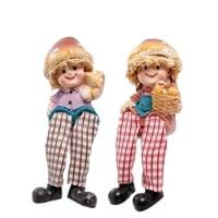 Комплект из 2 фигурок «Домовята с грибами» MN-140