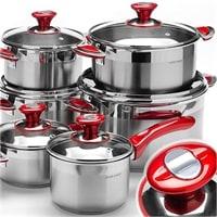 Набор посуды с усиленным индукционным дном MB-80007
