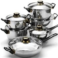 Набор посуды из нержавеющей стали MB-6032