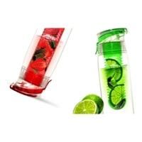 Бутылка Asobu Flavour it 2 go 0,6 литра зеленая