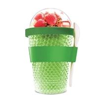 Контейнер Asobu Chill yo 2 go 0,38 литра зеленый