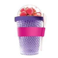 Контейнер Asobu Chill yo 2 go 0,38 литра фиолетовый