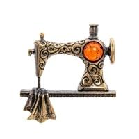 Брошь «Швейная машинка» AM-2234