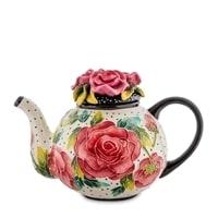 Заварочный чайник из фарфора «Розы» BS-40