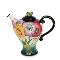 Заварочный чайник из фарфора «Маки» BS-31