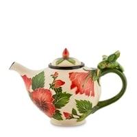Заварочный чайник из фарфора «Гибискус» BS-41