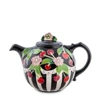 Заварочный чайник из фарфора «Вишенки» BS-43
