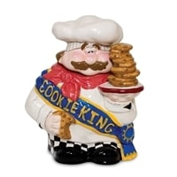 Емкость из фарфора для сыпучих продуктов «Король печенья» BS-70