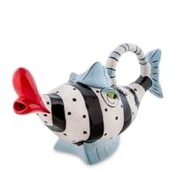 Заварочный чайник из фарфора «Рыбка Blueberry» BS-68
