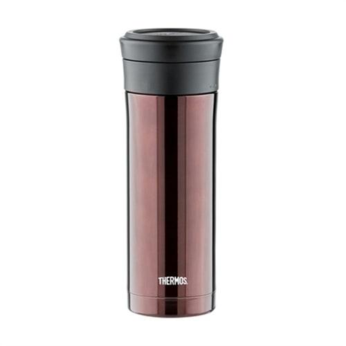 Термокружка Thermos TCMK-500 CBW 0,5 литра с ситом (коричневая)
