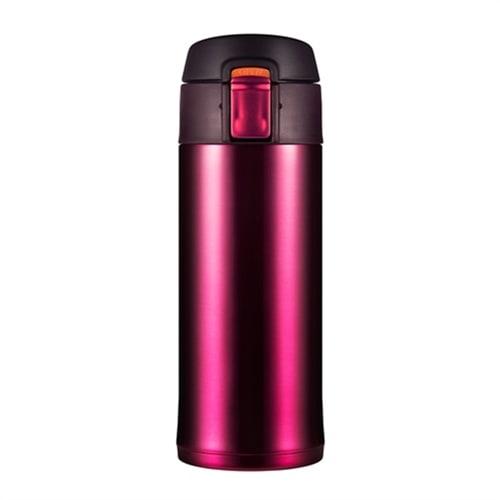Термокружка Woodsurf Quick Open 0,35 литра (темно-розовая)