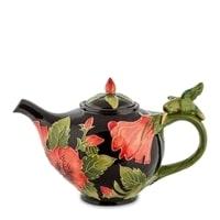 Заварочный чайник из фарфора «Гибискус» BS-119