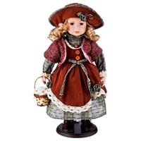 Кукла фарфоровая M-346254