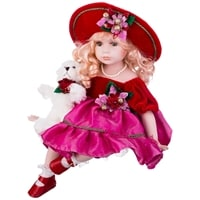 Кукла фарфоровая M-346222