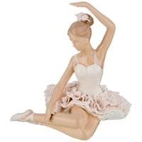 Статуэтка «Балерина» M-150102 (серия «Фарфоровые кружева»)