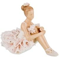 Статуэтка «Балерина» M-150110 (серия «Фарфоровые кружева»)