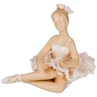 Комплект их 4-х статуэток «Балерина» M-150114 (серия «Фарфоровые кружева»)
