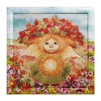 Гобелен в расписной раме «Солнечный ангел» ANG-356