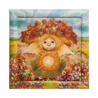 Гобелен в расписной раме «Солнечный ангел» ANG-592