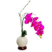 Орхидея в вазе с LED-подсветкой LP-03