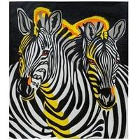 Картина «Радужные зебры» ART-500