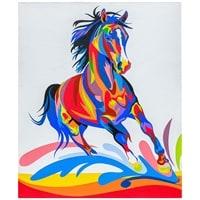 Картина «Радужная лошадь» ART-501
