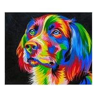 Картина «Радужный пес» ART-503