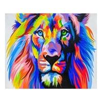 Картина «Радужный лев» ART-504