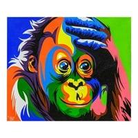 Картина «Радужная обезьяна» ART-506