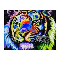 Картина «Радужный тигр» ART-517