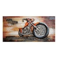 Фактурная картина «Мотоцикл» ART-802