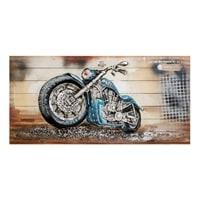 Фактурная картина «Мотоцикл» ART-803