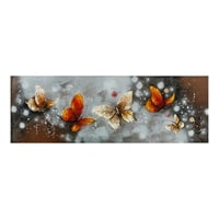 Фактурная картина «Бабочки» ART-809