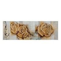 Фактурная картина «Розы» ART-811