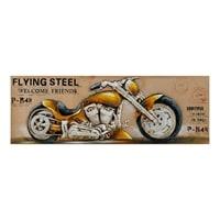 Фактурная картина «Мотоцикл Flying Steel» ART-827