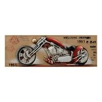Фактурная картина «Мотоцикл 1951» ART-828