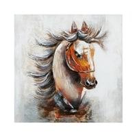 Фактурная картина «Лошадь» ART-829
