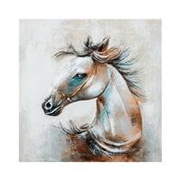 Фактурная картина «Лошадь» ART-830