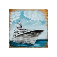 Фактурная картина «Корабль» ART-835