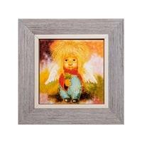 Панно керамическое «Ангел удачи» ANG-754