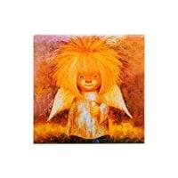 Магнит керамический «Ангел дарящий тепло» ANG-02