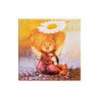 Магнит керамический «Ангел надежды и веры» ANG-06