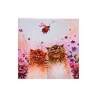 Магнит керамический «Кошачья романтика» ANG-679