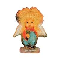 Магнит деревянный «Ангел удачи» ANG-551