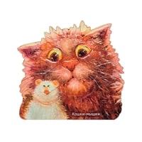 Магнит деревянный «Кошки-мышки» ANG-733