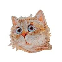 Магнит деревянный «Любимый котик» ANG-738